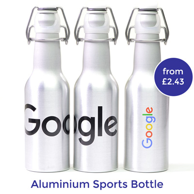 printed aluminium bottle