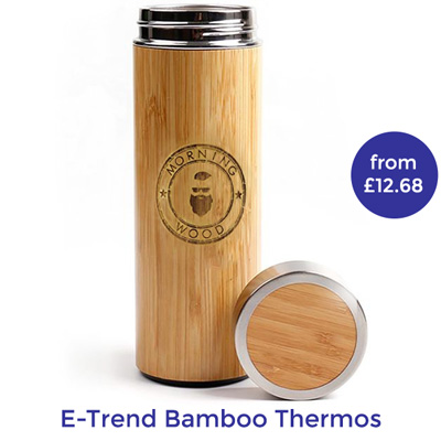 personalised bamboo mug