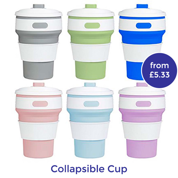 branded collapsible coffee cups