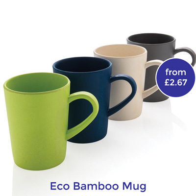 eco friendly branded mugs