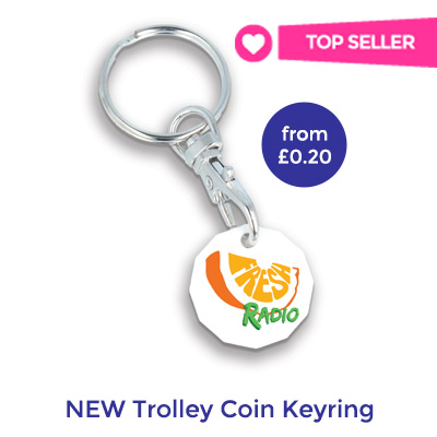branded trolley coin