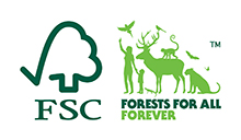 We are FSC certified