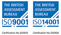 We are ISO accreditated