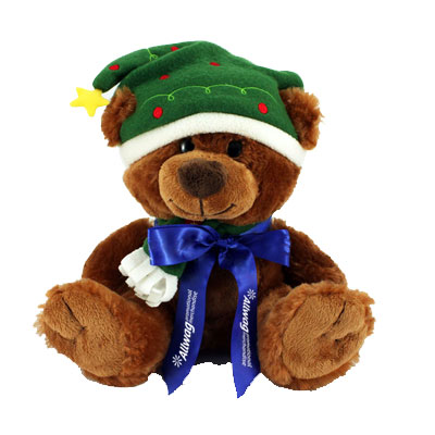 promotional christmas teddy