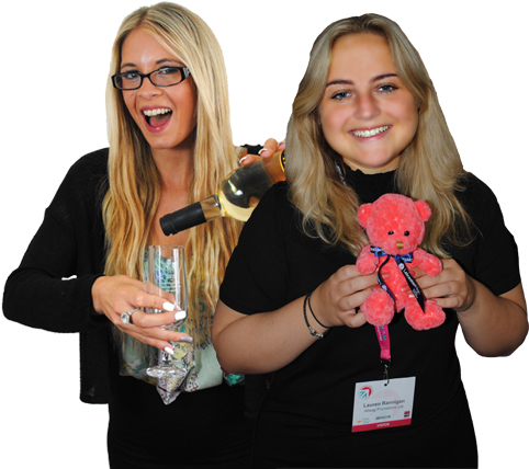 Jessica Went and Lauren Rannigan | Allwag Promotional Merchandise
