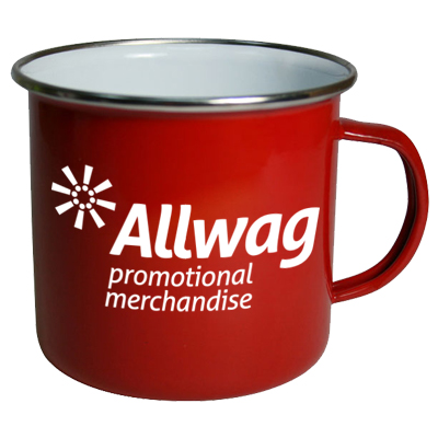 promotional enamel mugs