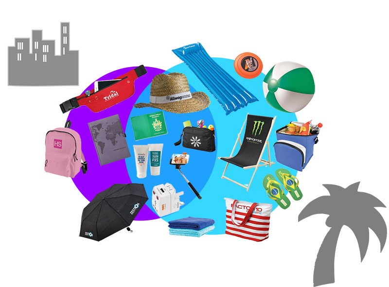 branded travel items
