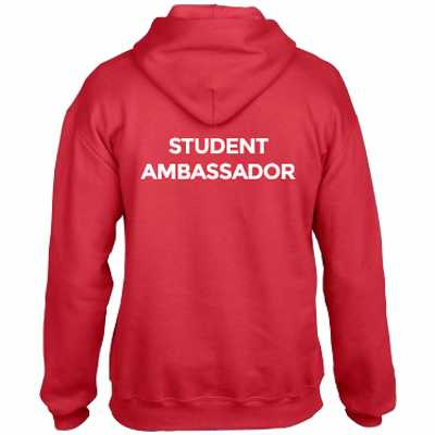 university ambassador hoodies