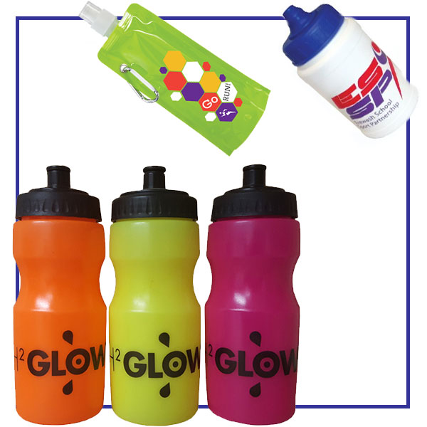branded reusable water bottles