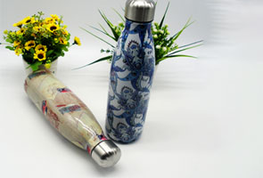 NEW Full Colour Wrap Branded Reusable Water Bottle