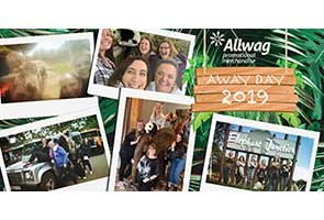 Team Allwag Unleashes Wild Side during 2019 Away Day