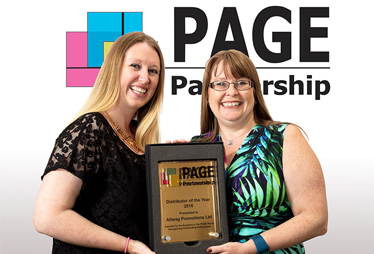 Allwag Promotions awarded PAGE Partnership Gold Distributor of the Year Award