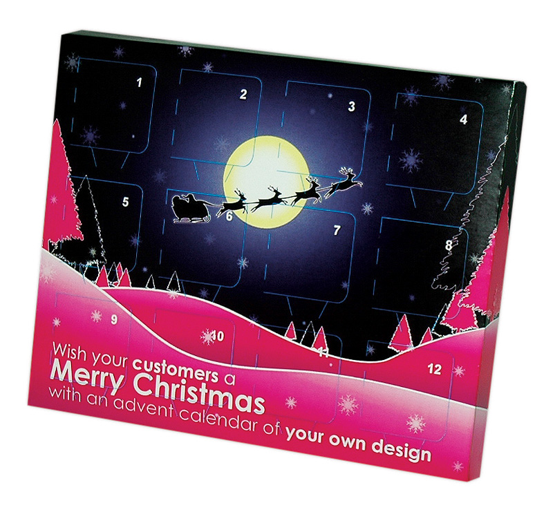 branded advent calendars