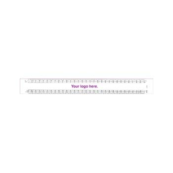 Architects Oval Scale Ruler - 12""