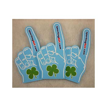Full Colour Foam Glove Hands