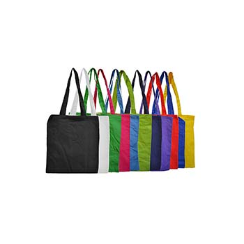 Long Handle 5oz Coloured Shopper