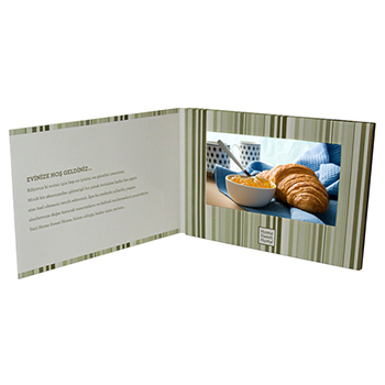 Video Greeting Card - 7 inch Screen