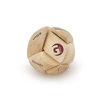 Wooden Puzzle Sphere