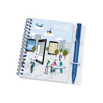 Wiro Smar Poly Note Pad and Pen - A6