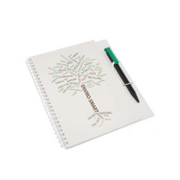 Enviro Smart A5 Poly Note Pad and Pen
