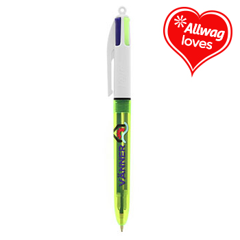 BIC 4 Colours Fluo ballpen