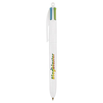BIC 4 Colour Fashion britePix ballpen