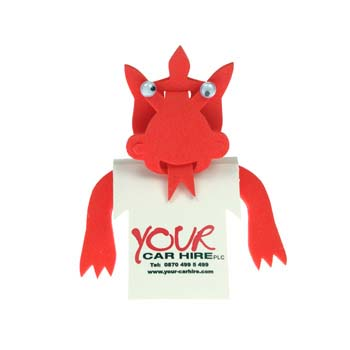 Dafydd Dragon T-Shirt Bookmark