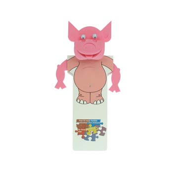 Animal Body Bookmark - Pig