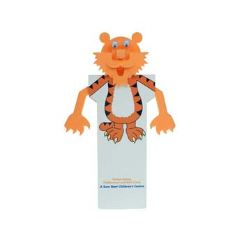 Animal Body Bookmark - Tiger