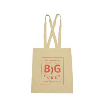 Invincible Premium Natural Cotton Shopper Bag