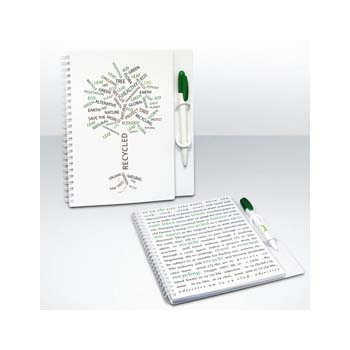 Green and Good A5 PenPad (Notebook), Recycled