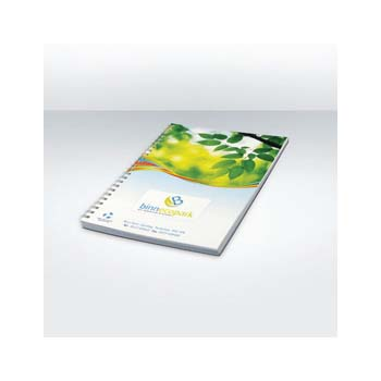 A5 Full colour Notebook Recycled card & Paper