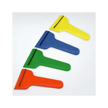 Green and Good T-Shaped Ice Scraper With Rubber Strip