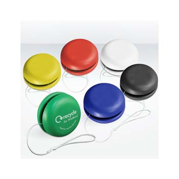 Green and Good Recycled Promotional Plastic Yoyo