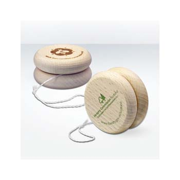 Green and Good Wooden Yoyo