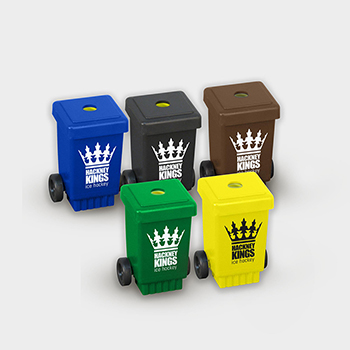 Green and Good Wheelie Bin Pencil Sharpener - Recycled