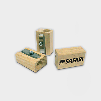 Green and Good Single Pencil Sharpener - Sustainable Timber