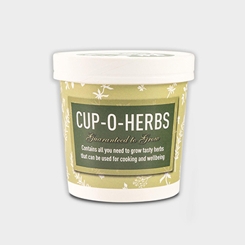 Green and Good Seed Cup - Cup-o-Herbs