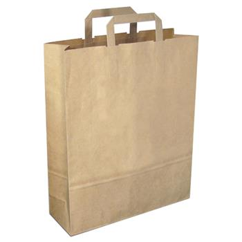 Large Green and Good Recycled Paper Carrier Bag