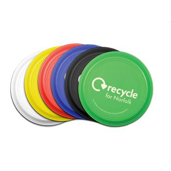 Green and Good Small Recycled Frisbee 125mm