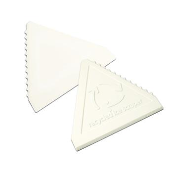Green and Good Triangular Value Ice Scraper