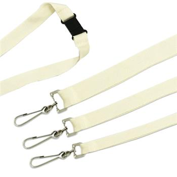 Green and Good Bamboo Deluxe Lanyards10mm  Dog Clip