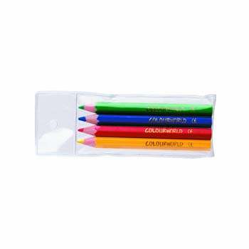 Colourworld Half Size Pencil Wallet - 4