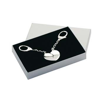 Joining Heart Keyring with Gift Box