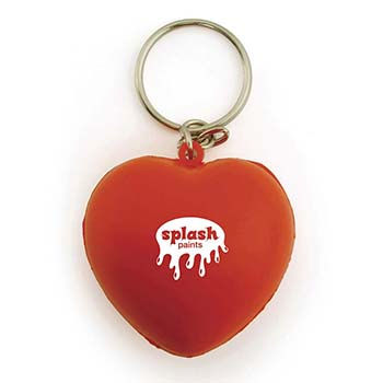 Stress Heart Keyring