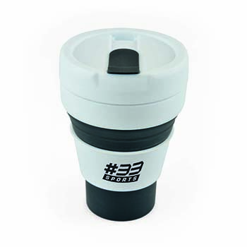 CupBranded Promotional Pocket Collapsible Mugs Travel bf67yg