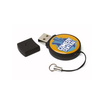 Epoxy Circle USB Flashdrive - 16GB