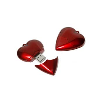 Heart USB Flashdrive - 8GB