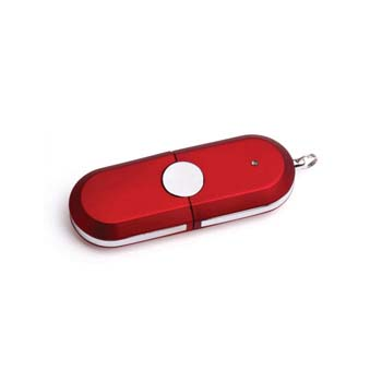 Rubber USB Flashdrive - 4GB