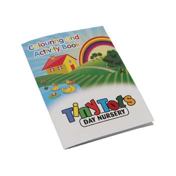 A4 Colouring Booklet - 8 Pages